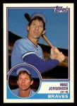 1983 Topps Traded #51 T Mike Jorgensen  Front Thumbnail