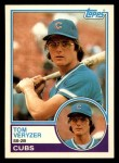 1983 Topps Traded #121 T Tom Veryzer  Front Thumbnail