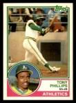 1983 Topps Traded #87 T Tony Phillips  Front Thumbnail