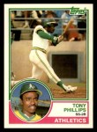 1983 Topps Traded #87 T Tony Phillips  Front Thumbnail