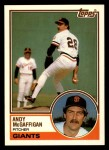1983 Topps Traded #68 T Andy McGaffigan  Front Thumbnail