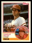 1983 Topps Traded #88 T Charlie Puleo  Front Thumbnail