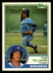 1983 Topps Traded #109 T Tom Tellmann  Front Thumbnail