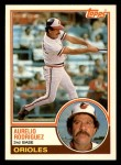 1983 Topps Traded #97 T Aurelio Rodriguez  Front Thumbnail