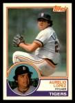 1983 Topps Traded #63 T Aurelio Lopez  Front Thumbnail