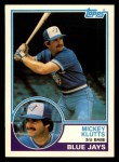1983 Topps Traded #56 T Mickey Klutts  Front Thumbnail