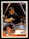 1983 Topps Traded #30 T Jim Essian  Front Thumbnail