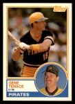 1983 Topps Traded #110 T Gene Tenace  Front Thumbnail
