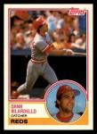 1983 Topps Traded #11 T Dann Bilardello  Front Thumbnail