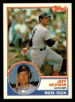 1983 Topps Traded #80 T Jeff Newman  Front Thumbnail