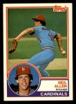 1983 Topps Traded #1 T Neil Allen  Front Thumbnail