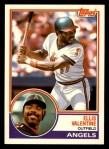 1983 Topps Traded #120 T Ellis Valentine  Front Thumbnail