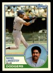 1983 Topps Traded #59 T Rafael Landestoy  Front Thumbnail