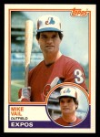 1983 Topps Traded #119 T Mike Vail  Front Thumbnail