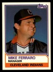 1983 Topps Traded #32 T Mike Ferraro  Front Thumbnail