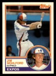 1983 Topps Traded #128 T Jim Wohlford  Front Thumbnail