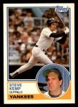 1983 Topps Traded #53 T Steve Kemp  Front Thumbnail