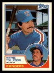 1983 Topps Traded #114 T Wayne Tolleson  Front Thumbnail