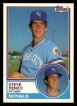 1983 Topps Traded #95 T Steve Renko  Front Thumbnail