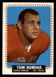 1964 Topps #57  Tom Nomina  Front Thumbnail