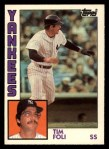 1984 Topps Traded #38  Tim Foli  Front Thumbnail