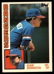 1984 Topps Traded #7  Alan Bannister  Front Thumbnail