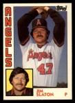 1984 Topps Traded #109  Jim Slaton  Front Thumbnail