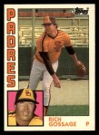 1984 Topps Traded #43  Goose Gossage  Front Thumbnail
