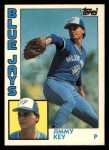 1984 Topps Traded #62  Jimmy Key  Front Thumbnail