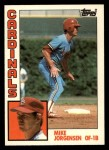1984 Topps Traded #60  Mike Jorgensen  Front Thumbnail