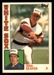 1984 Topps Traded #108  Tom Seaver  Front Thumbnail