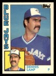 1984 Topps Traded #69  Dennis Lamp  Front Thumbnail