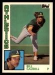 1984 Topps Traded #23  Bill Caudill  Front Thumbnail