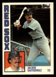 1984 Topps Traded #46  Jackie Gutierrez  Front Thumbnail
