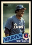 1985 Topps Traded #45 T Terry Harper  Front Thumbnail