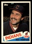 1985 Topps Traded #122 T Rich Thompson  Front Thumbnail