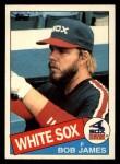 1985 Topps Traded #61 T Bob James  Front Thumbnail
