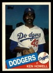 1985 Topps Traded #58 T Ken Howell  Front Thumbnail