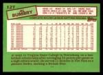 1985 Topps Traded #12 T Al Bumbry  Back Thumbnail