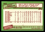 1985 Topps Traded #38 T Scott Garrelts  Back Thumbnail