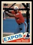 1985 Topps Traded #9 T Hubie Brooks  Front Thumbnail