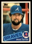 1985 Topps Traded #115 T Bruce Sutter  Front Thumbnail