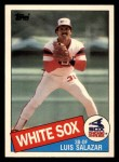 1985 Topps Traded #102 T Luis Salazar  Front Thumbnail
