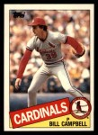 1985 Topps Traded #15 T Bill Campbell  Front Thumbnail