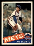 1985 Topps Traded #103 T Joe Sambito  Front Thumbnail