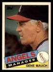 1985 Topps Traded #81 T Gene Mauch  Front Thumbnail