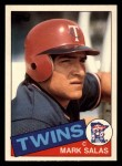 1985 Topps Traded #101 T Mark Salas  Front Thumbnail