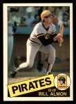 1985 Topps Traded #2 T Bill Almon  Front Thumbnail