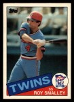 1985 Topps Traded #108 T Roy Smalley  Front Thumbnail