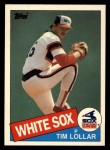 1985 Topps Traded #76 T Tim Lollar  Front Thumbnail